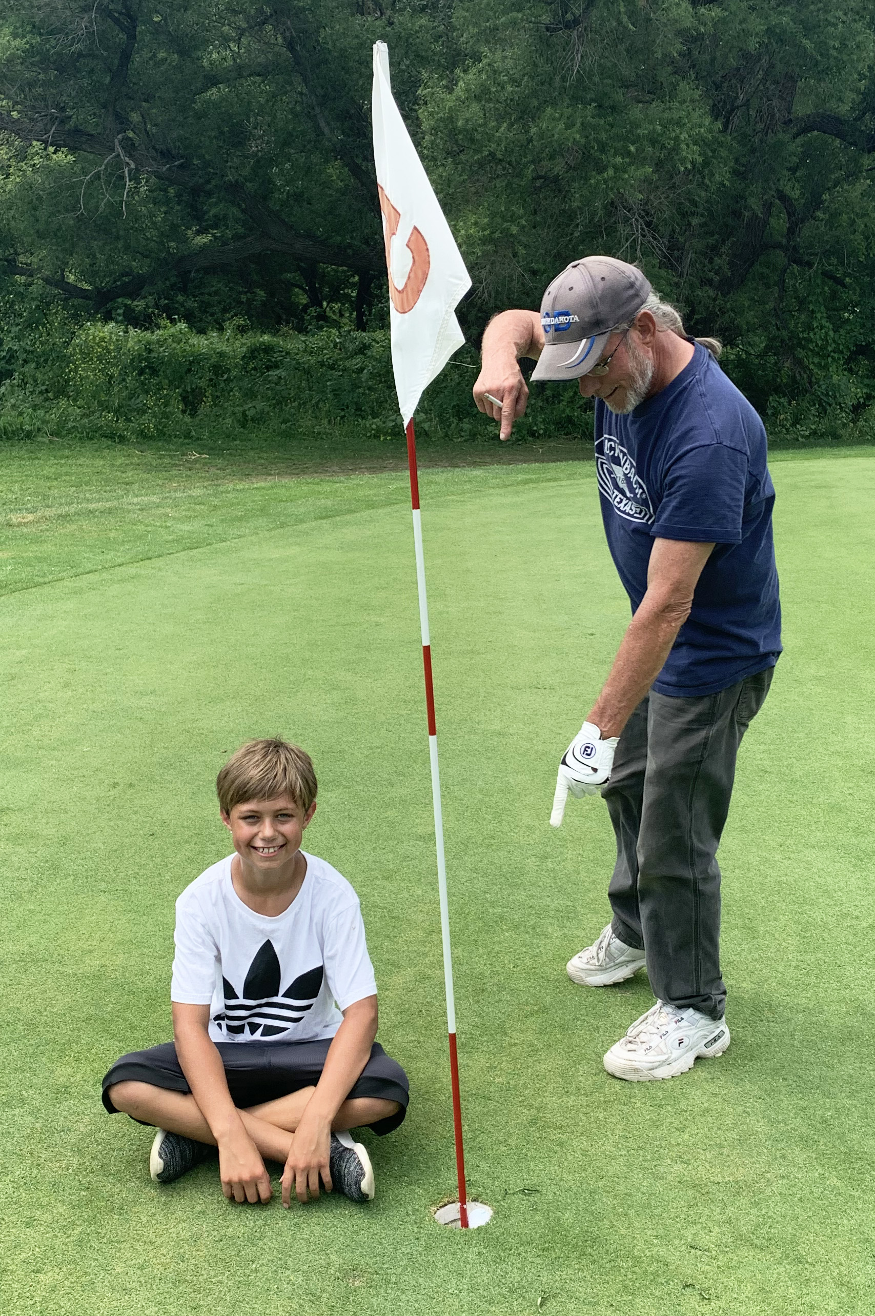 "<span style=""font-size:11px;""><span style=""font-family:arial,helvetica,sans-serif;"">Aiden Moots, 9, of Brandon, achieved a feat many golfers dream of but never achieve: a hole-in-one. The youngster, golfing with his mom, Kimberly, and grandpa, George Tague, used a 7-iron on the 91-yard hole five at Hidden Valley Golf Course on Saturday, July 18.</span></span>"