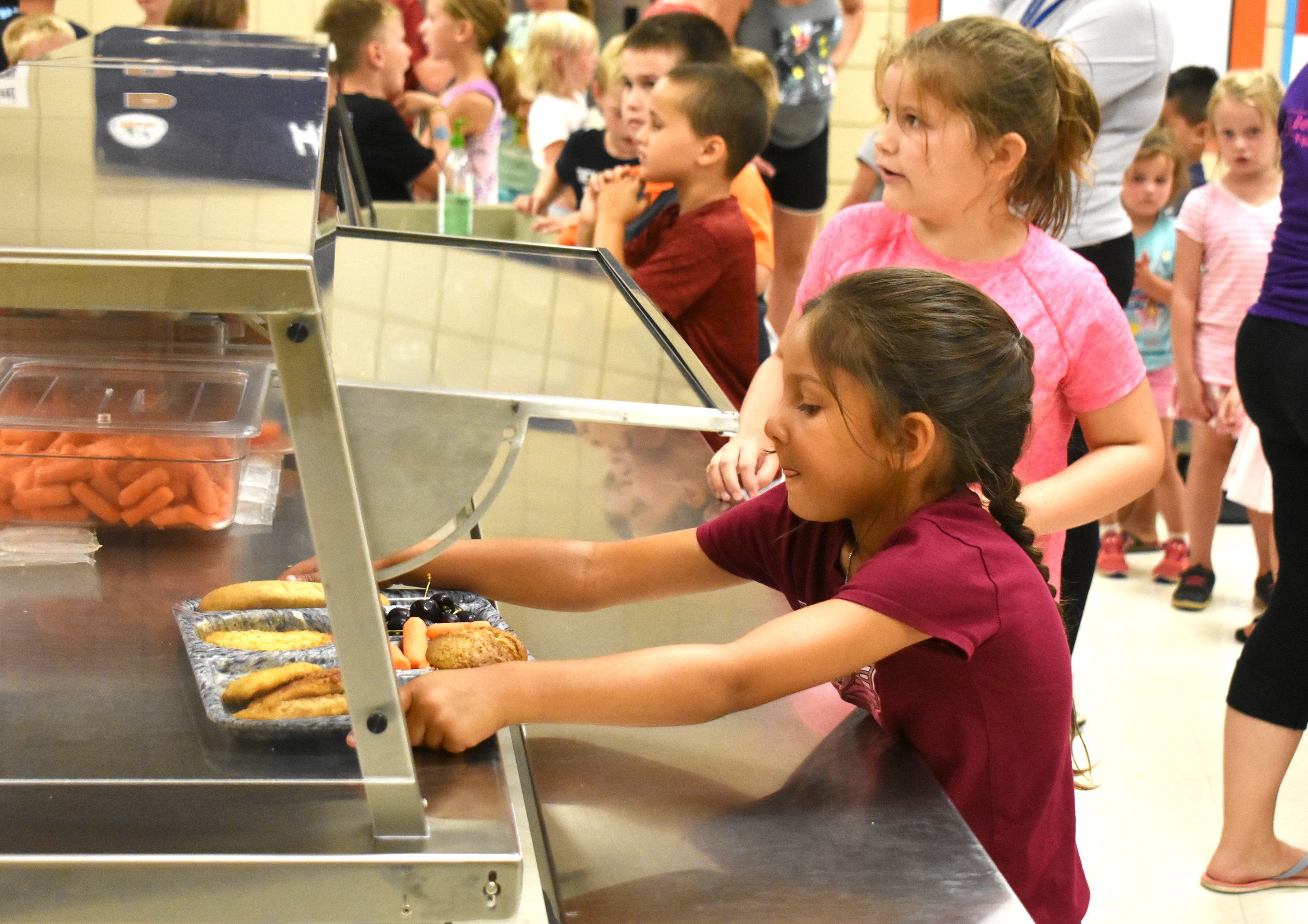"<span class=""s1"">The summer lunch program came to an end Friday. The Brandon Valley School District provided 38 days of free meals to kids and teens. <strong>McClane Archer/BV Journal</strong></span>*/"
